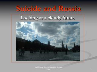 Suicide and Russia