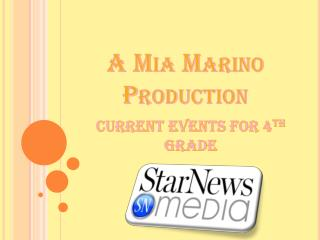 A  Mia Marino  Production