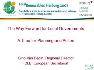 The Way Forward for Local Governments  - A Time for Planning and Action
