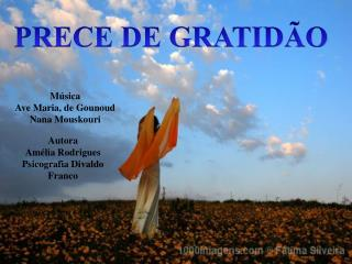 Música Ave Maria, de Gounoud Nana Mouskouri