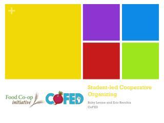 Student-led Cooperative Organizing