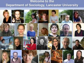 Welcome to the Department of Sociology, Lancaster University