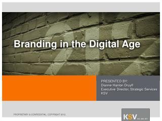 Branding in the Digital Age