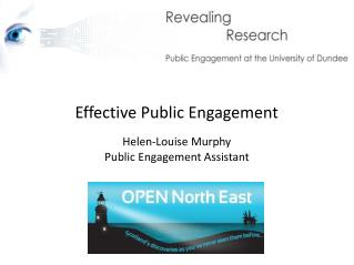 Effective Public Engagement