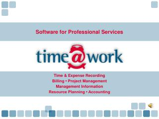 Software for Professional Services