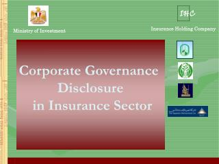 Corporate Governance  Disclosure  in Insurance Sector