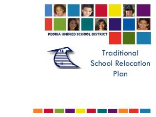 Traditional School Relocation Plan