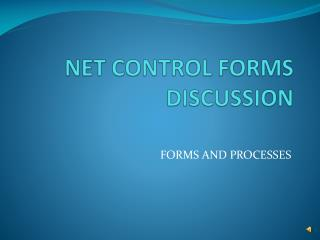 NET CONTROL FORMS DISCUSSION