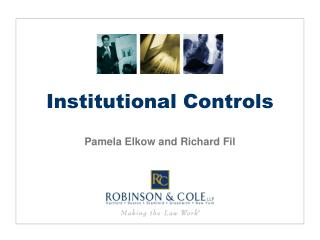 Institutional Controls