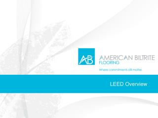 LEED Overview