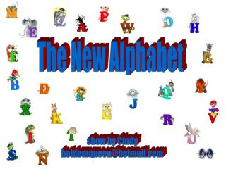 The New Alphabet