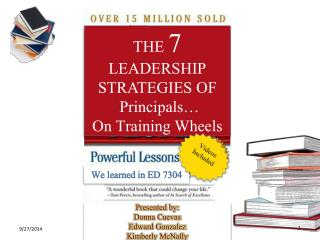 THE  7  LEADERSHIP STRATEGIES OF   Principals… On Training Wheels