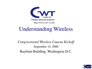 Understanding Wireless