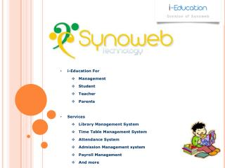 i -Education For Management Student  Teacher  Parents Services Library Management System
