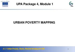 URBAN POVERTY MAPPING