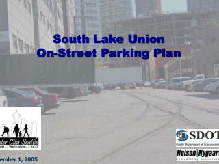 South Lake Union On-Street Parking Plan