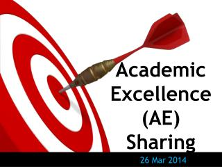 Academic Excellence (AE) Sharing