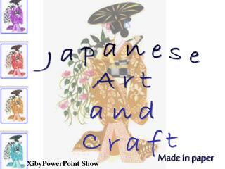 Japanese  Art  and  Craft