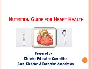 Nutrition Guide for Heart Health