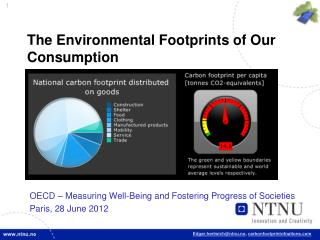 The  Environmental Footprints of Our Consumption