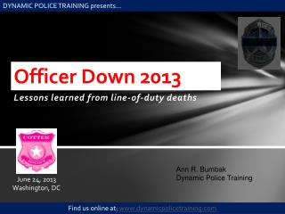 Officer Down 2013