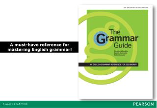 A must-have reference for mastering English grammar!