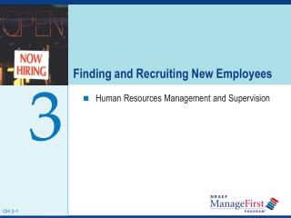 Finding and Recruiting New Employees