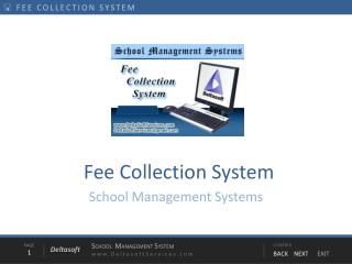Fee Collection System