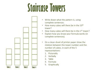 Staircase Towers