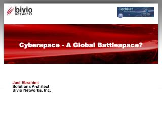 Cyberspace - A Global Battlespace?