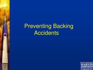 Preventing Backing Accidents