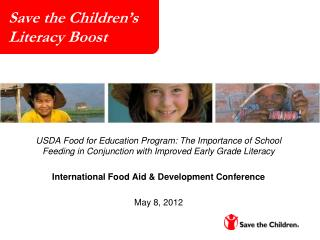 Save the Children's  Literacy Boost