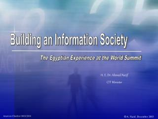 Building an Information Society