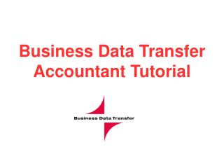 Business Data Transfer Accountant Tutorial