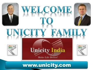 WELCOME To UNICITY  FAMILY