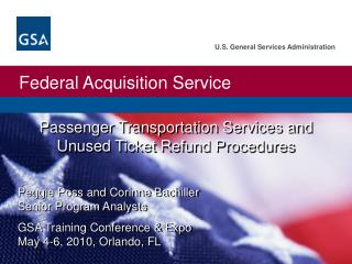 Passenger Transportation Services and Unused Ticket Refund Procedures
