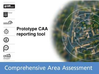 Prototype CAA reporting tool