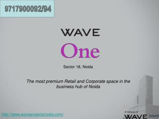 Sector 18,  Noida The most premium Retail and Corporate space in the business hub of  Noida