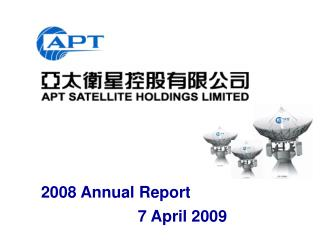 2008 Annual Report            7 April 2009