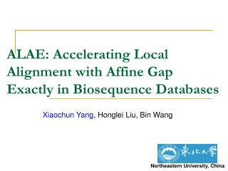ALAE: Accelerating Local Alignment with Affine Gap Exactly in Biosequence Databases