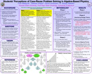 Students  Perceptions of Case-Reuse Problem Solving in Algebra-Based Physics