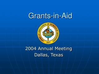 Grants-in-Aid