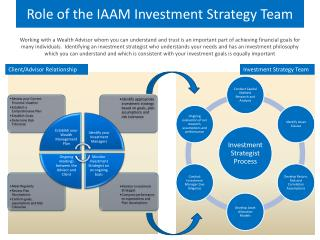 Role of the IAAM Investment Strategy Team