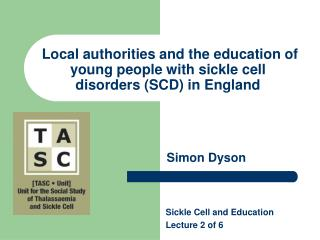 Local authorities and the education of young people with sickle cell disorders (SCD) in England
