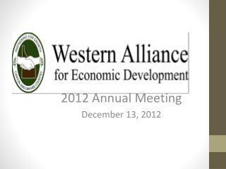 2012 Annual Meeting December 13, 2012