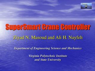 SuperSmart Crane Controller