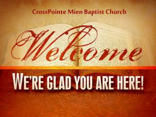 CrossPointe Mien Baptist Church