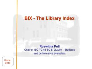 BIX - The Library Index