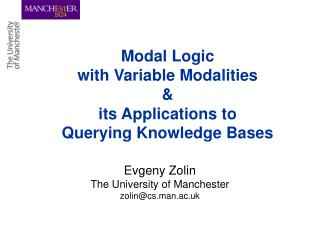 Modal Logic with Variable Modalities & its Applications to Querying Knowledge Bases