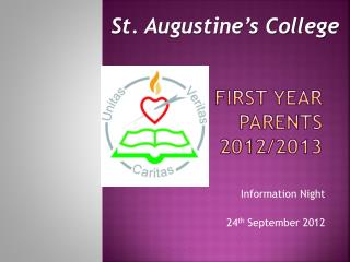 First Year Parents 2012/2013